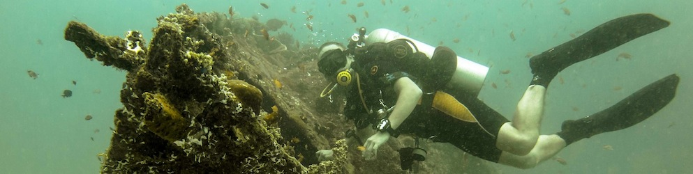 Wreck diving Subic Bay xi
